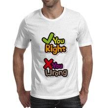 You Right Or Wrong T-shirt Mobile Game Cool Novelty Fashion T Shirt Rock Punk Pop Women Men Top magic u t shirt dungeons dragons dnd novelty 70s 80s arcade game punk cool t shirt funny rock pop women men top