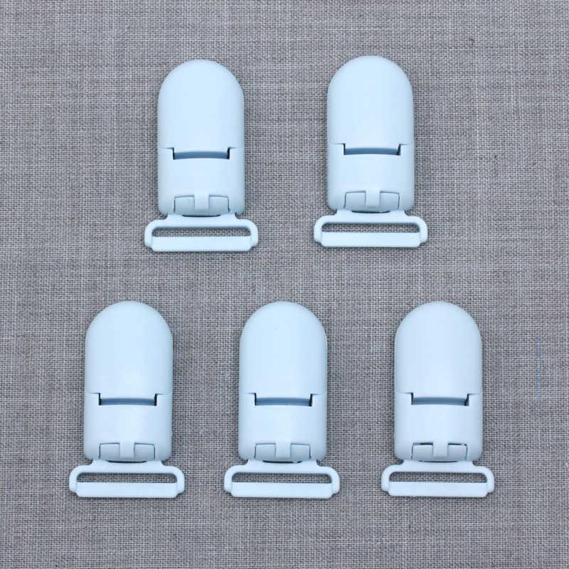 Пластиковый прорезыватель, зажимы, сделай сам, пустышка, зажим для силиконового прорезывания зубов, бусины, 5 шт./партия, Детские Прорезыватели, пустышка, Clip-M101