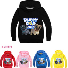 Z&Y 2-14Years Lady Dog Pillow Pal Porte Clothes Babygirl Jacket Children Bomber for Girls Sweatshirt Manteaux Bike Jumper