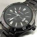 2016 CURREN Marca Homens Relógios Desportivos da moda de Tungstênio de Aço relógios de Pulso de Quartzo Analógico Man Moda Relógio Relógio dos homens