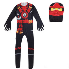 Christmas Halloween Party Performance Costume One Piece With Hat Cosplay For Boys Clothes  62903