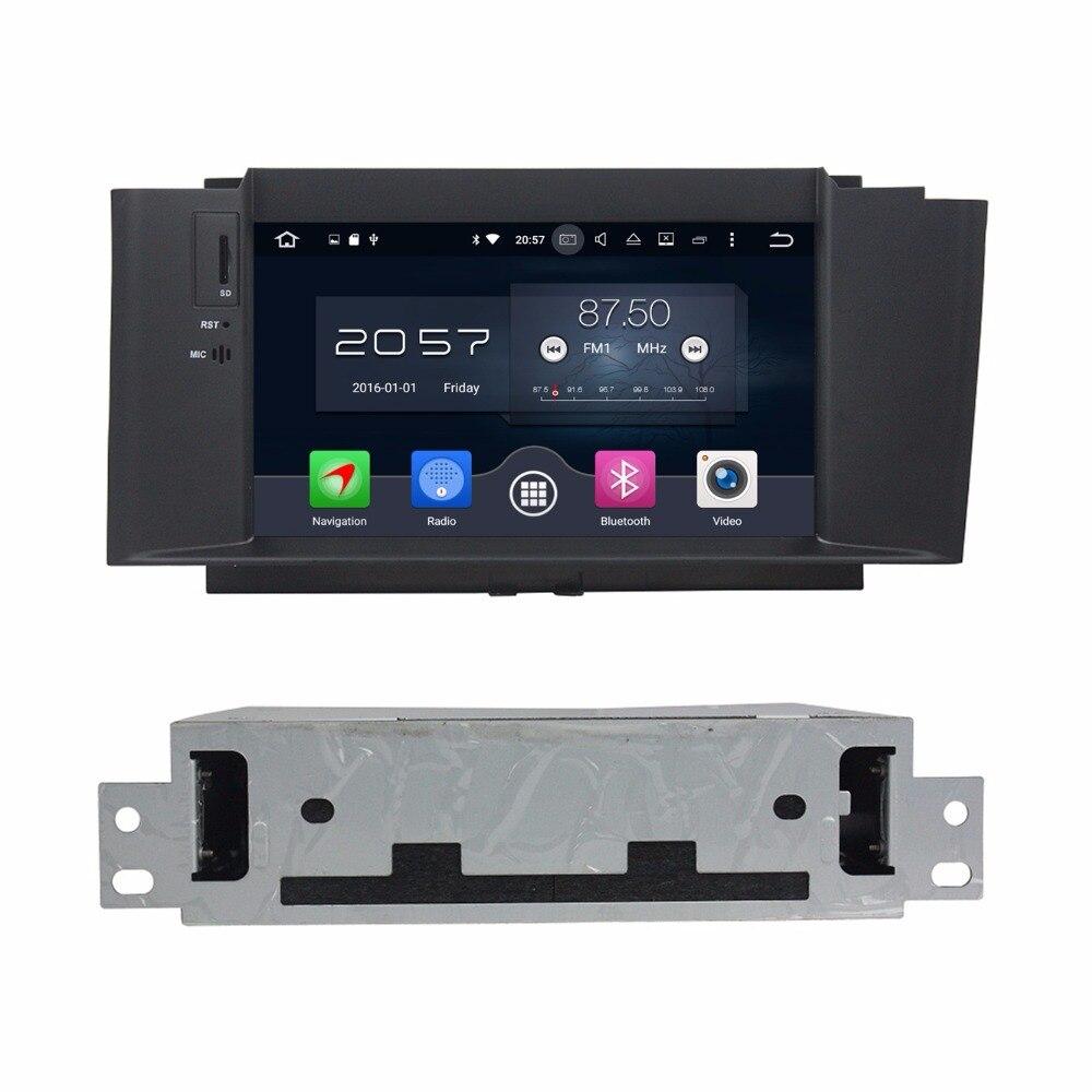 Android 6.0 Octa core автомобильный Радио DVD GPS для Citroen C4L <font><b>C4</b></font> L 2012 2013 2014 с 2 ГБ Оперативная память <font><b>bluetooth</b></font> WI-FI 32 ГБ Встроенная память зеркало-link