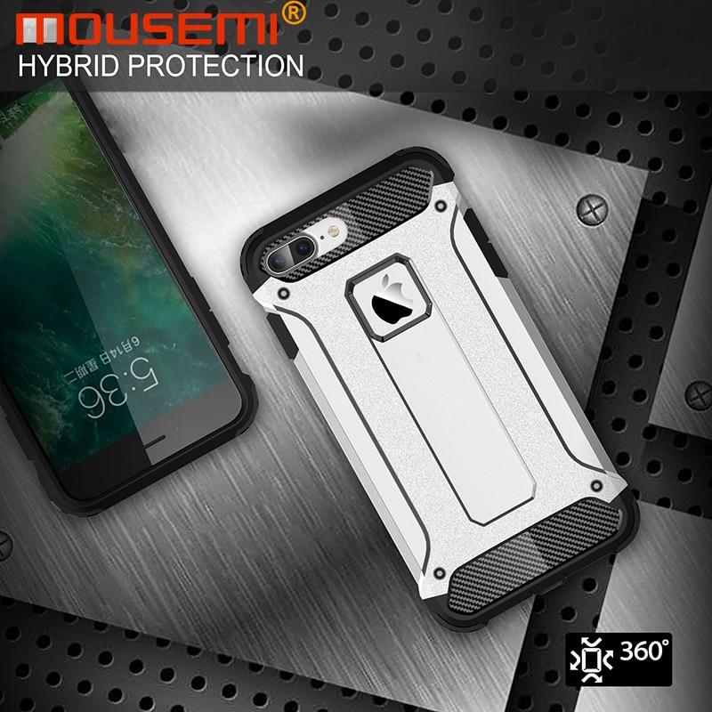 Silicone Luxury Shockproof Hard PC TPU Armor iPhone Case 1