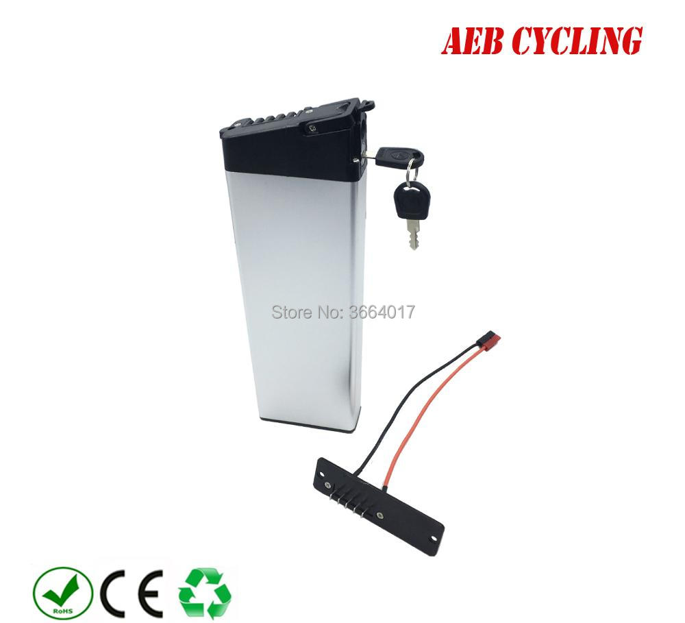 EU US free shipping and taxes Folding bike battery 36V 10Ah inner tube battery Lithium ion silver case battery for city bike 5pcs lot no taxes 36v 10ah ebike battery pack 36 volt lithium ion battery with water bottle model