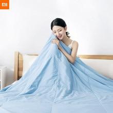 Xiaomi youpin como ar condicionado antibacteriano, original, colcha, verão, fácil de limpar, macio, confortável, máquina lavável