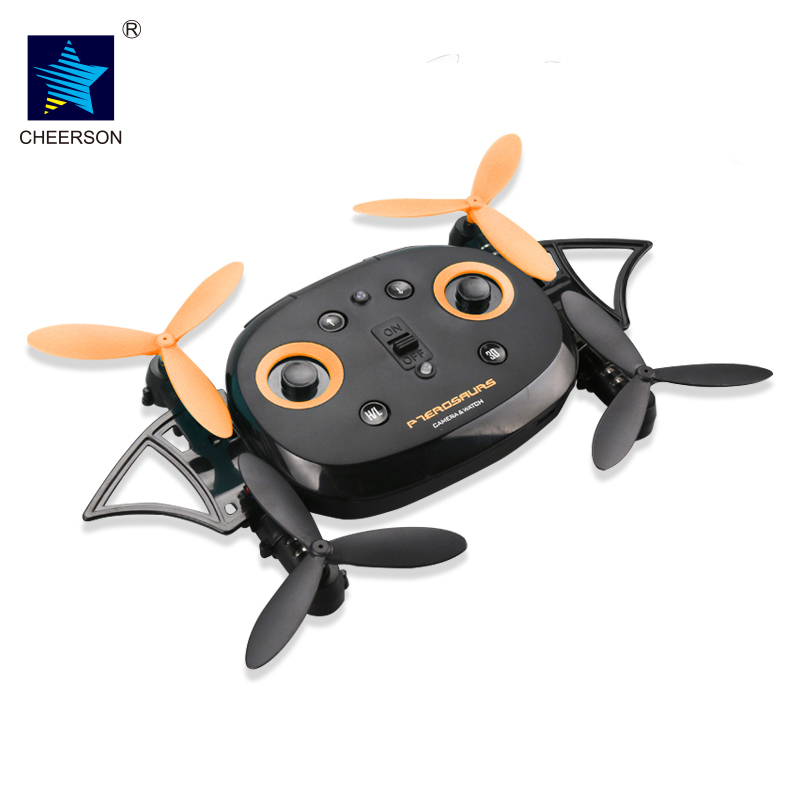 CHEERSON CX-70 WiFi FPV 0.3MP Camera HD Wireless Remote Control RC Quadcopter RTF Wearable Wrist Watch Design Air Altitude Hold jjr c jjrc h43wh h43 selfie elfie wifi fpv with hd camera altitude hold headless mode foldable arm rc quadcopter drone h37 mini