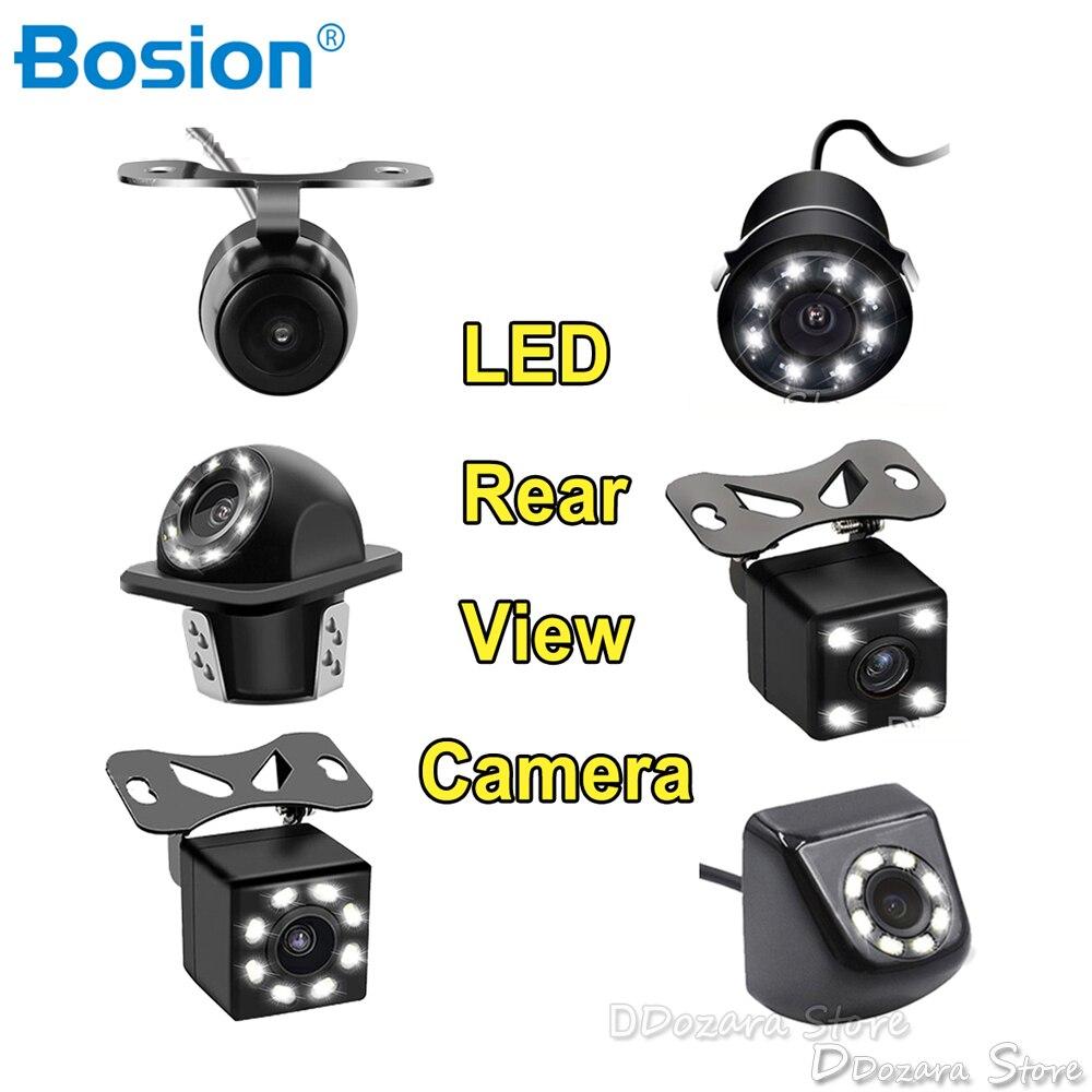 Kamera tylna kamera samochodowa akcesoria samochodowe kamera cofania ekran aparatu kamera na deskę rozdzielczą LED light