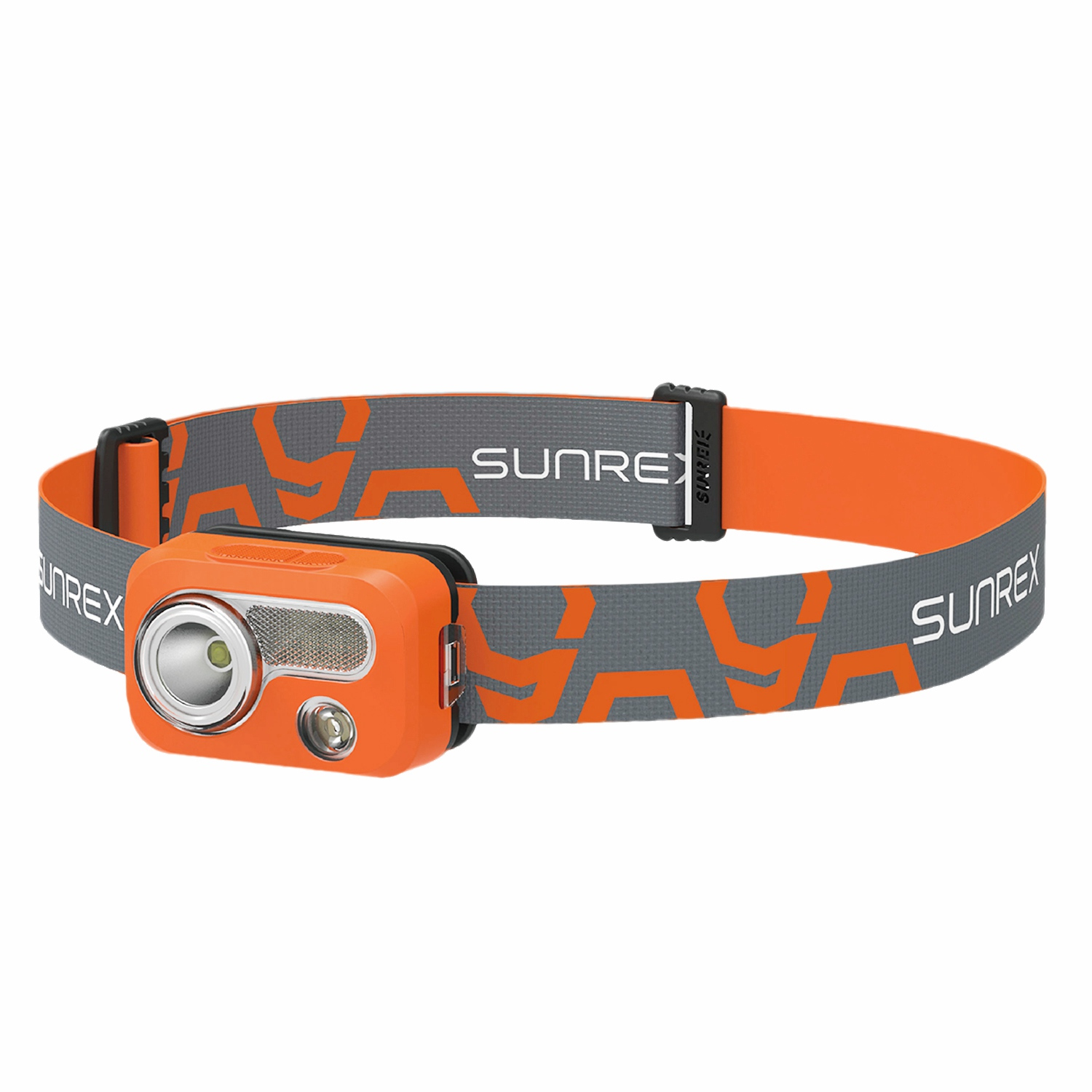 SUNREE Waterproof IPX7 Hiking Camping LED Head Light Lamp Portable Outdoor SOS Light with 6 Lighting Modes Ultra Bright Flashl
