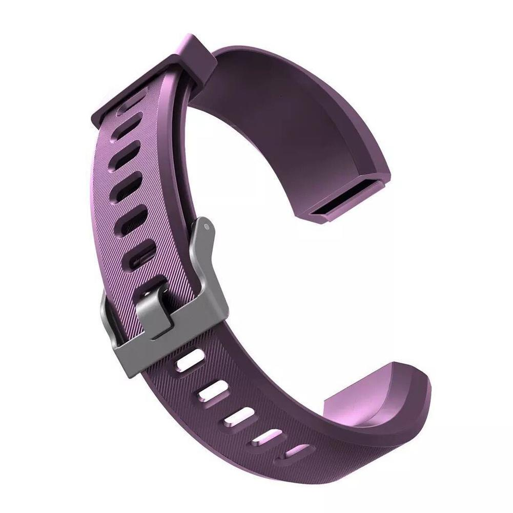 Image 4 - Silicone Replacement Strap Soft Scratch Resistant Wrist Band Watchband Fitness Tracker Comfortable For ID115 Plus-in Smart Accessories from Consumer Electronics