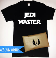Jedi Master T-Shirt with Symbol Packaging Star Wars Free shipping  Harajuku Tops Fashion Classic Unique