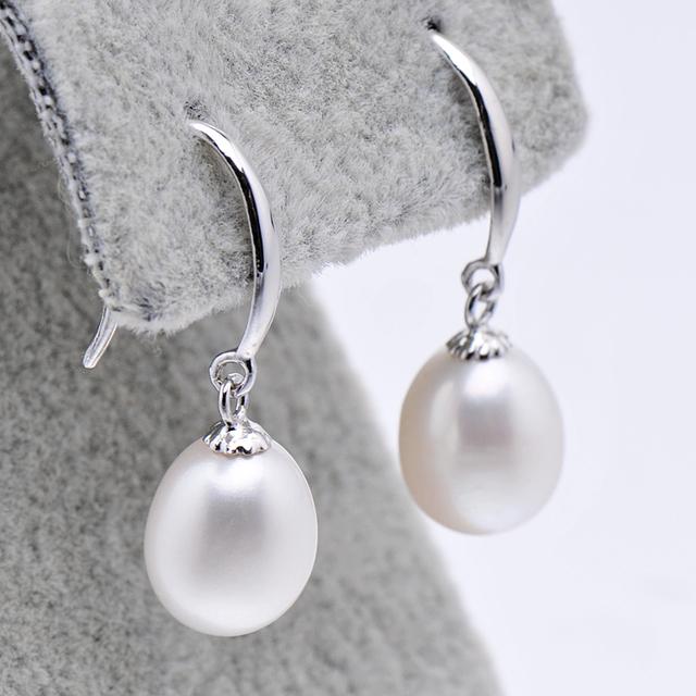 Freshwater Pearl Teardrop Earrings