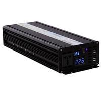 4000W Peak Pure Sine Wave Solar Inverter 24V 220V 2000W Car Power Inverters Converters 12V/24V/48V DC to 100V/120V/220V/240V AC