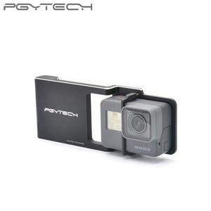Image 3 - PGYTECH Adattatore per osmo action mobile zhiyun Gopro Hero 7 6 5 4 3 + xiaoyi 4 K liscia Q accessorio interruttore piastra di montaggio Della Macchina Fotografica
