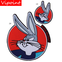 embroidery rabbits patches for jackets,cartoon badges jeans,serpents appliques backpack,A313