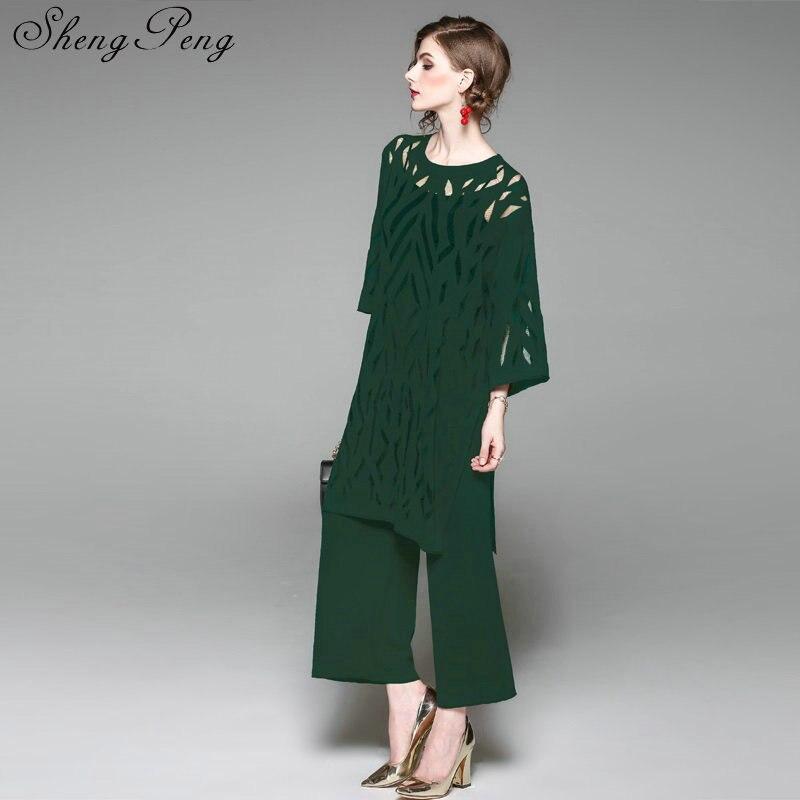 Large Jambe 1 Évider Élégantes Pantalon pantalon Costume Femmes Dames 2 Vêtements Décontractée 3 Cc082 D'affaires Hauts Tailleur Longues np1qwFvxU