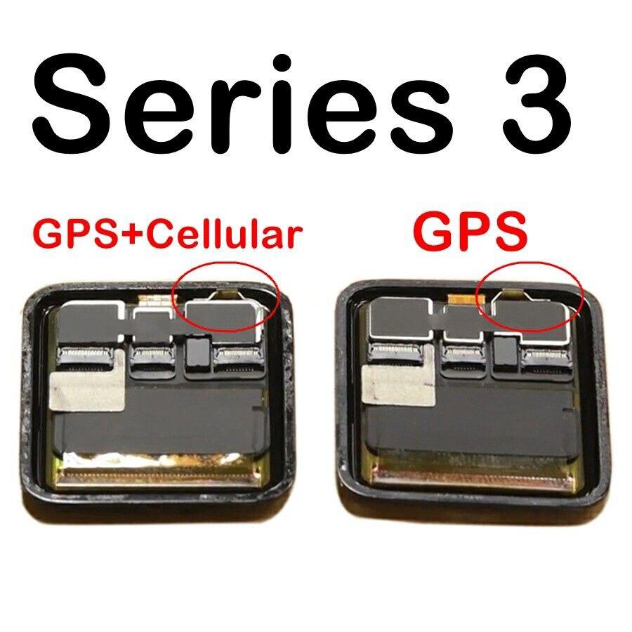 Sinbeda 100% flambant neuf GPS + Cellulaire LCD Pour Apple Montre Série 3 LCD ensemble écran numériseur Série 3 S3 38mm 42mm écran lcd