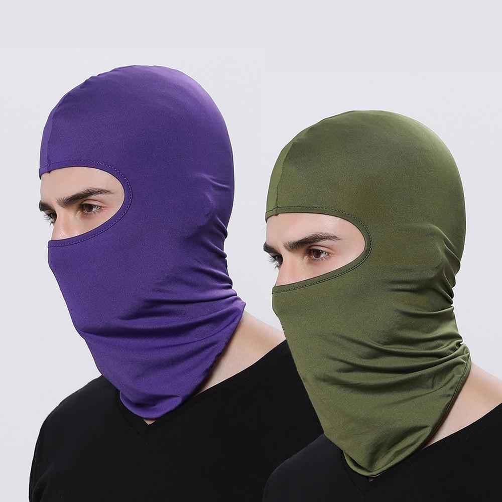 WOSAWE Integrated Motorcycles Balaclava Face Mask Bike Bicycle Hat Bandana Sport Caps Full Cover Face Shield Motocross Headwear 2