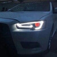 Новая фара для Mitsubishi Lancer EX lightbar 2008 2009 2010 2011 2012 2013 2014