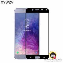 2PCS Full Glue Cover Glass For Samsung Galaxy J4 2018 Tempered Glass Screen Protector For Samsung Galaxy J4 2018 Phone Film J400 смартфон samsung galaxy j4 2018 j400 32gb черный