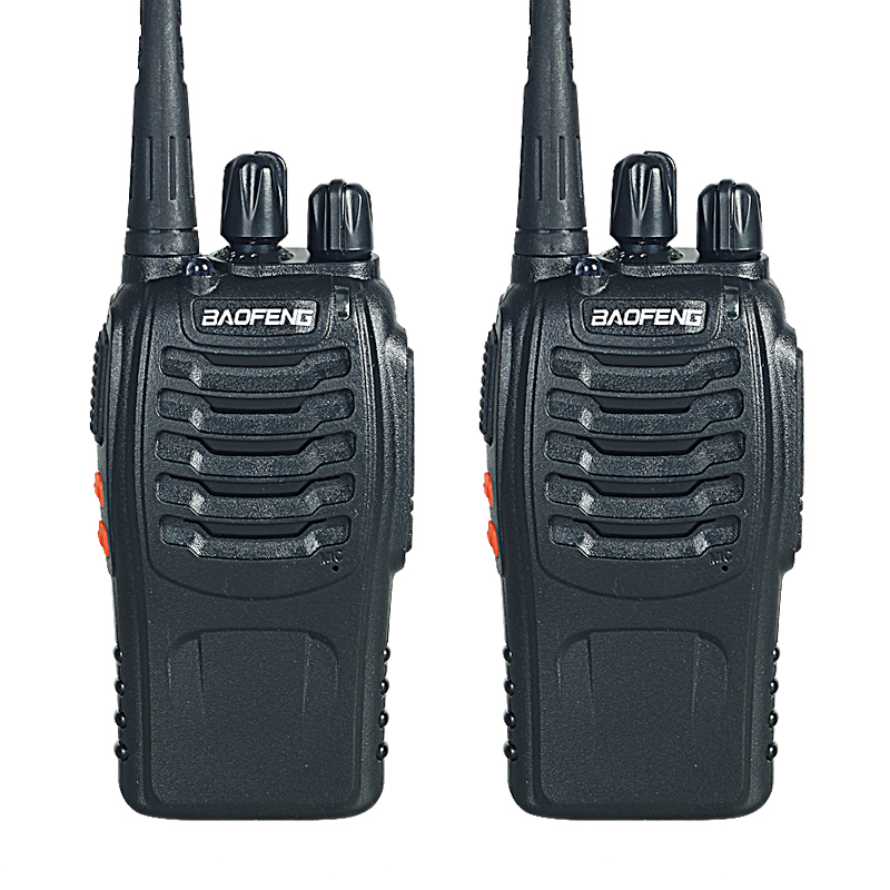 Walkie Talkie Two way Radio 2 PCS Baofeng BF 888S Portable with VHF UHF 5W 400