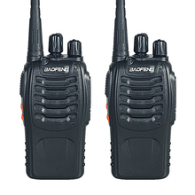 Walkie Talkie Two-way Radio 2 PCS Baofeng BF-888S Portable with VHF UHF 5W 400-470MHz 16CH