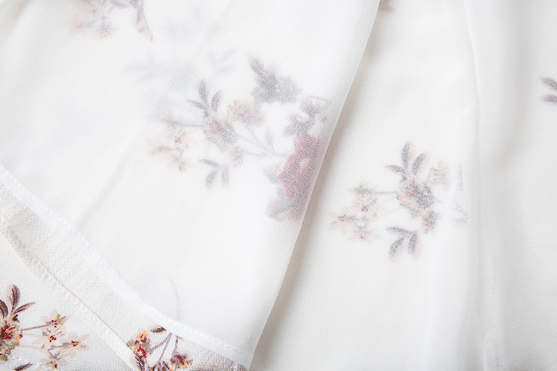 BONGOR LUSS Women Summer Dress 2017 V-Neck Cape Short Sleeve Casual Mini Dress Boho Beach Vinatge Floral Print Dress Sundress (6)