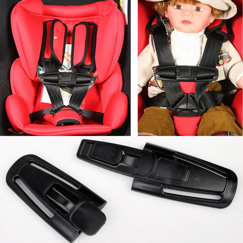 1Piece High Quality New Arrival Car Baby Child Safety Seat Strap Belt Harness Chest Clip Buckle Latch Nylon PA66