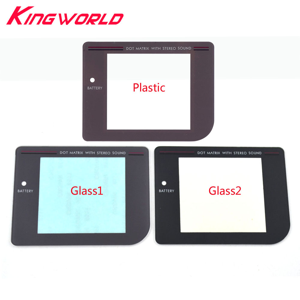 High Quality Replacement Plastic Glass Screen Lens For G-ame Boy For G-ameBoy For G-B