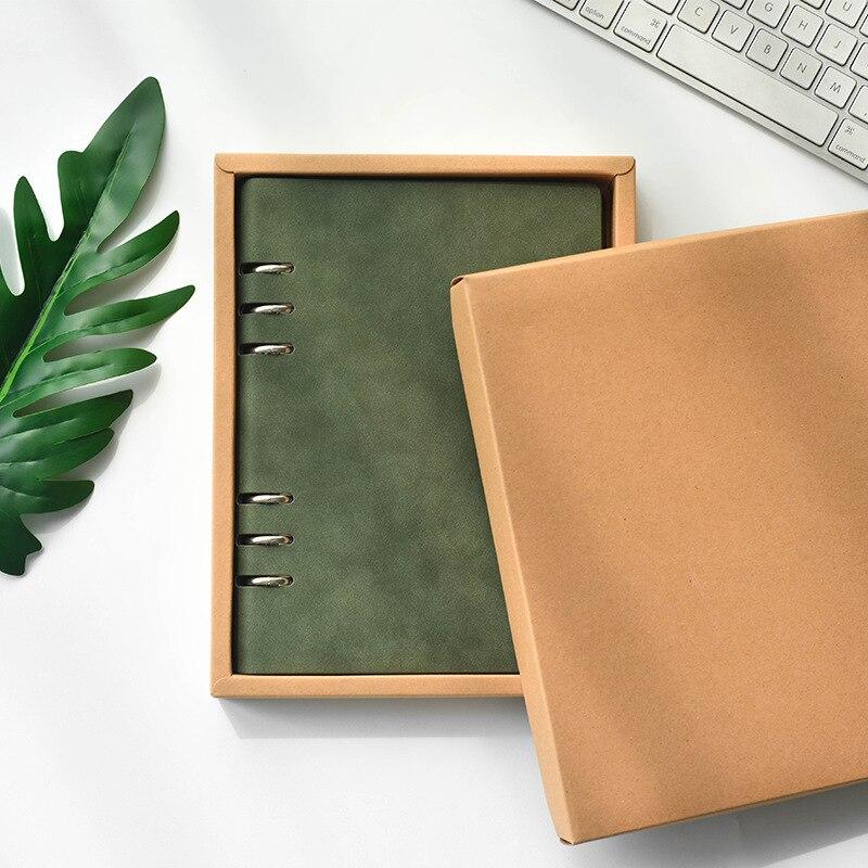 Carnet de notes, couverture Imitation peau de mouton, carnet de notes pour les affaires des étudiants, Agenda de planificateur de Journal, A5