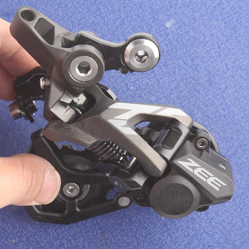 SHIMANO ZEE RD M640 10S speed MTB Bicycle Rear Derailleur велосипедные тормоза shimano 09 m820 zee yh851s