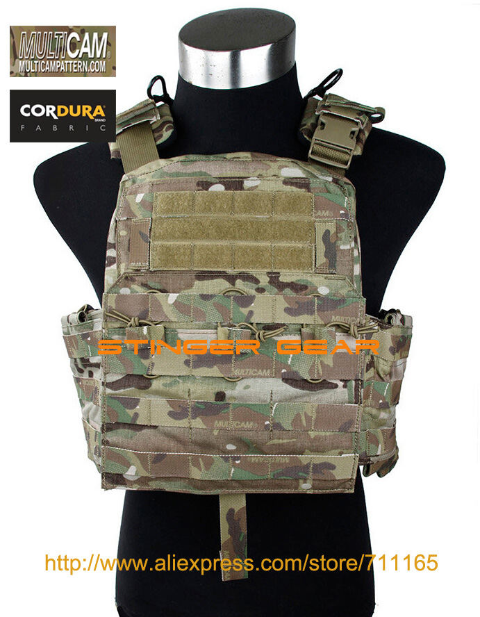 TMC Cherry Plate Carrier Genuine Multicam 2016VER. Military CPC Vest+Free shipping(SKU12050144) multicam 4020 a2 tactical plate carrier molle military vest free shipping stg050954