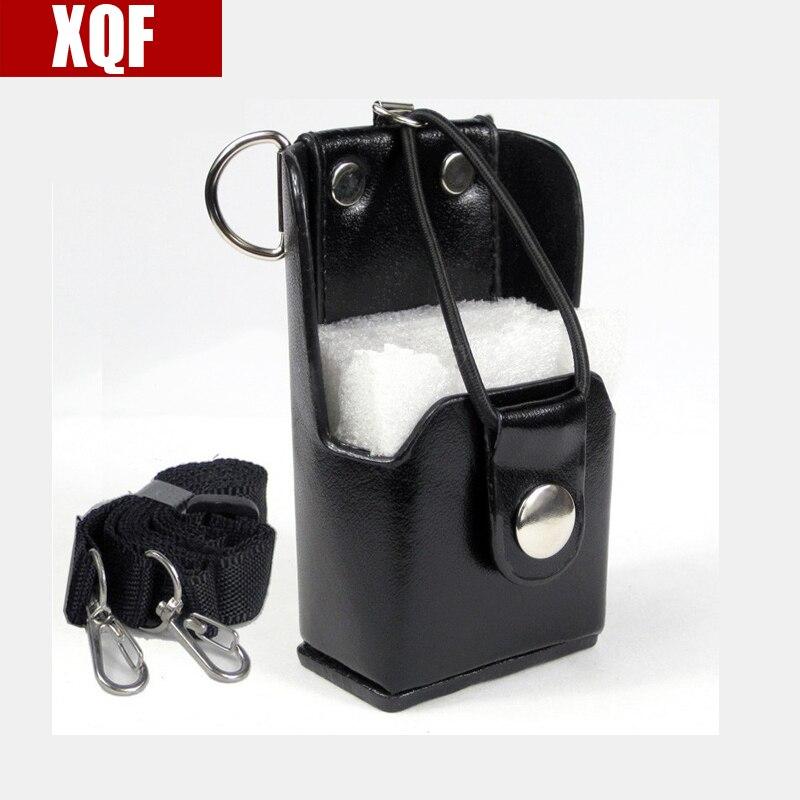 XQF Hard Leather Case Hoster For Motorola Two Way Radio Walkie Talkie GP328+Plus GP388 GP344 GP638