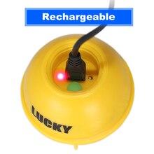 LUCKY FFW718LA Wireless Sonar Fish Finder Portable Professional Sounder 45M/135FT Sonar Depth Sounder Alarm Ocean River Lake