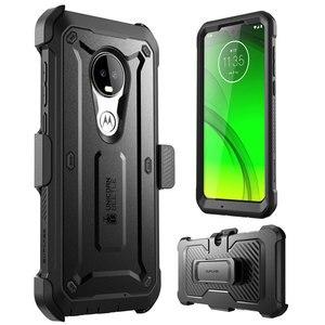 Image 2 - Fall Für Moto G7 (2019) SUPCASE UB Pro Full Körper Robuste Holster Abdeckung mit Integrierten Bildschirm Protector Für Motorola Moto G7 Fall