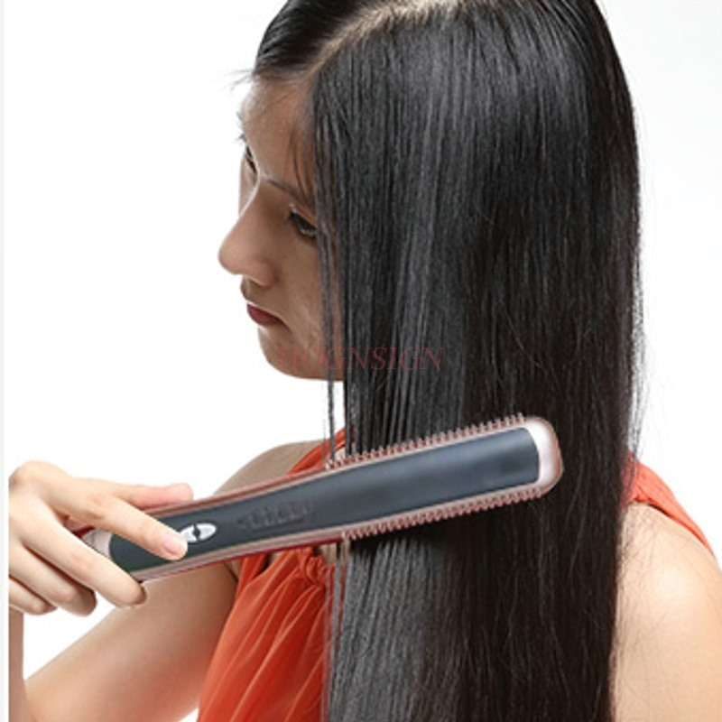 Straight hair comb does not hurt hair straightener hair curler straight volume dual-use inner buckle ironing board curler splint scalding hot hair straightener electric roll curlers straight coil dual use splint buckle bangs essential oils do not hurt hair