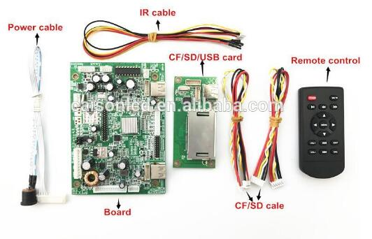 Здесь продается  6M182VG LCD advertising board support USB/SD/CF card ,support 1080P full HD Video decoding LCD advertising board  Бытовая электроника