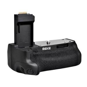 Image 2 - マイクスMK 760D垂直バッテリーグリップホルダー用キヤノン750D 760D LP E17としてBG E18、カメラバッテリーハンドル用キヤノン750D 760D