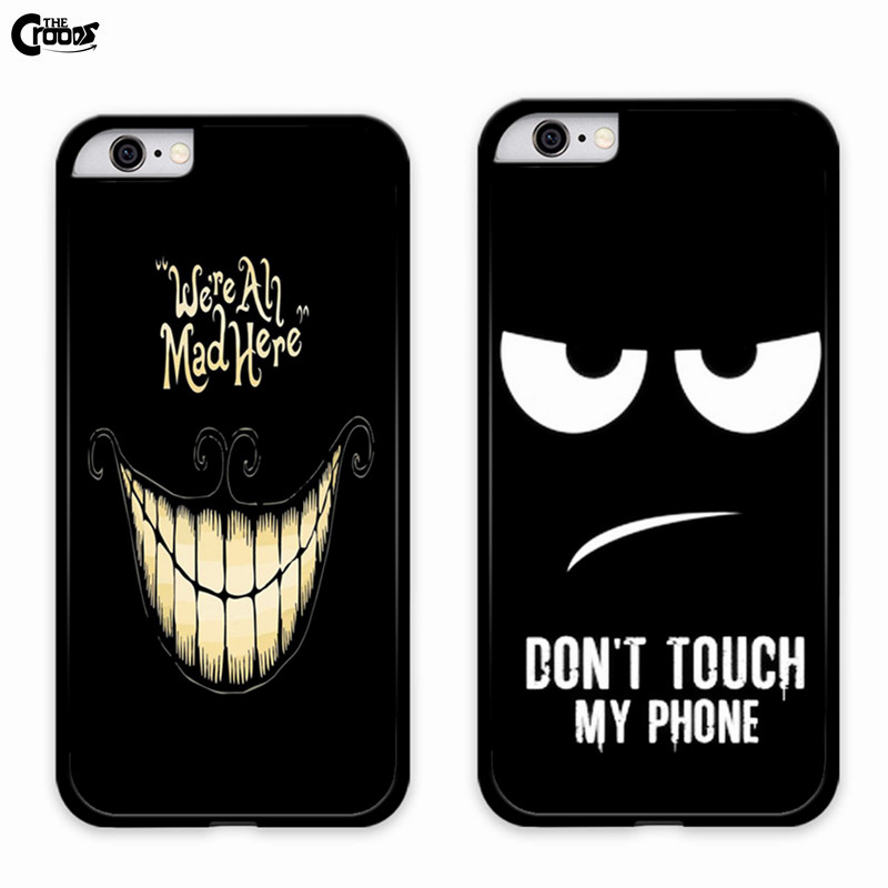 case for iphone 6s fashion customize printing black plastic hard