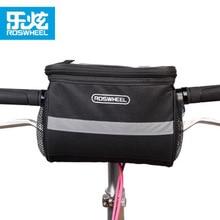 ROSWHEEL Mountain Bike Handlebar Bag Riding Bike Phone Case Tool Bag Front Pannier Cycling Bicycle Bag/Cover/Basket Sacoche Velo