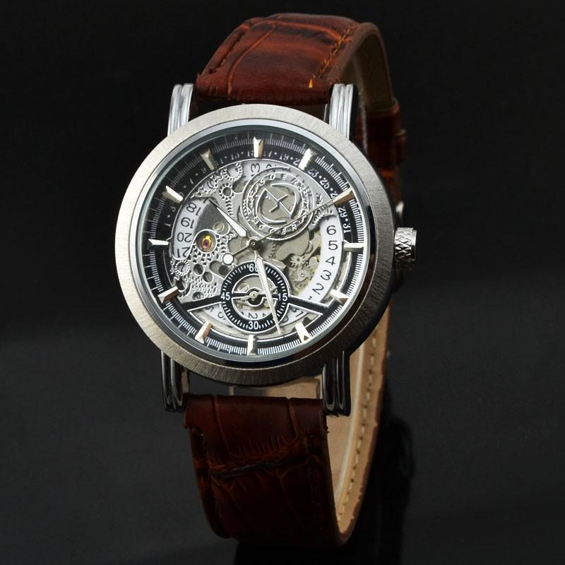 6943b899a3c Marca Freqüentador Turbilhão Mecânico Automático do Relógio Dos Homens do  Cronógrafo de Aço Inoxidável Dos Homens Fase Da Lua Relógios Relogio  masculinoUSD ...