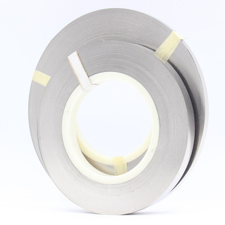 Épaisseur 0.15mm x 1 kg 99.96% feuilles de bande de plaque de Nickel pur pour 18650 batterie de soudage plaque de nickel