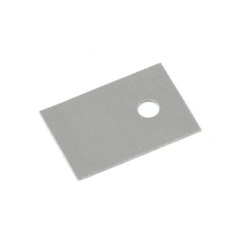100PCS TO-220 Insulation Pads Silicone Heatsink Shim for Laptop CPU GPU GOOD (3)