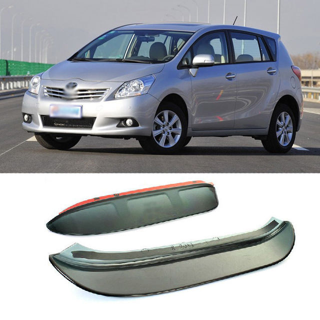 Blade Side View Mirror Rainproof Cover Sun Visor Shield For Toyota Verso 2011