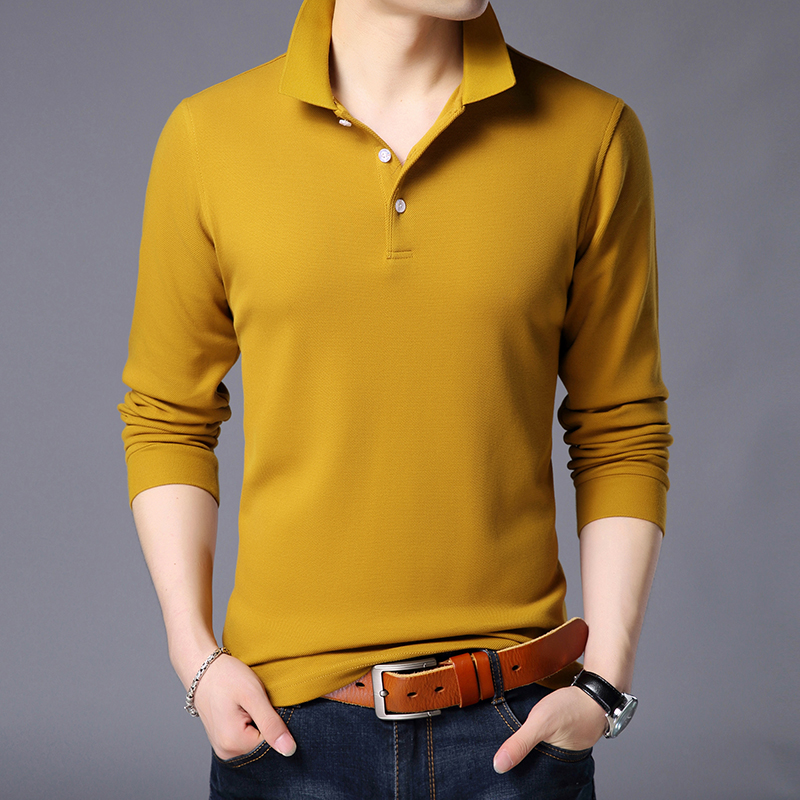 Men's Casual t-shirt Fashion Long Sleeves