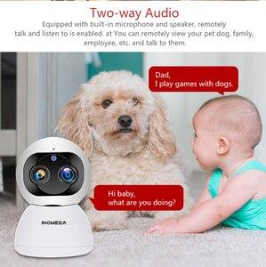 Image 4 - INQMEGA Cloud 1080P 2MP Dual Lens Wireless IP Camera Wifi Auto Tracking Indoor Home Security Surveillance CCTV Network Camera