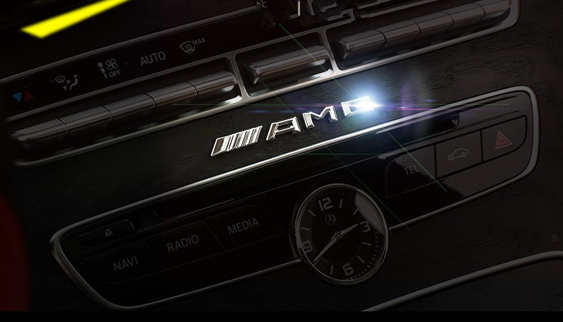 3D auto metal badge sticker for Mercedes-benz GLK W204 W211 W212 AMG GLC ML GL  AMG Emblem Trim  Emblem Trim Accessories car seat cover covers accessories for mercedes benz gle w167 glk x204 gls x166 ml w163 w164 w166 w221 w222
