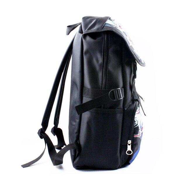Dragon Ball Z/Naruto /Tokyo Ghoul School Bag