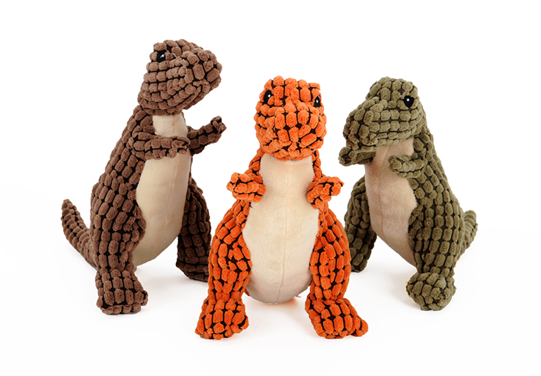 Dinosaur Dog Toy with Sound Resistant to biting