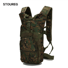 15L Ultralight Molle Tactical Backpack 800D Oxford Military Hiking Bicycle Backpack Outdoor Sports Cycling Climbing Bag 4 Colors