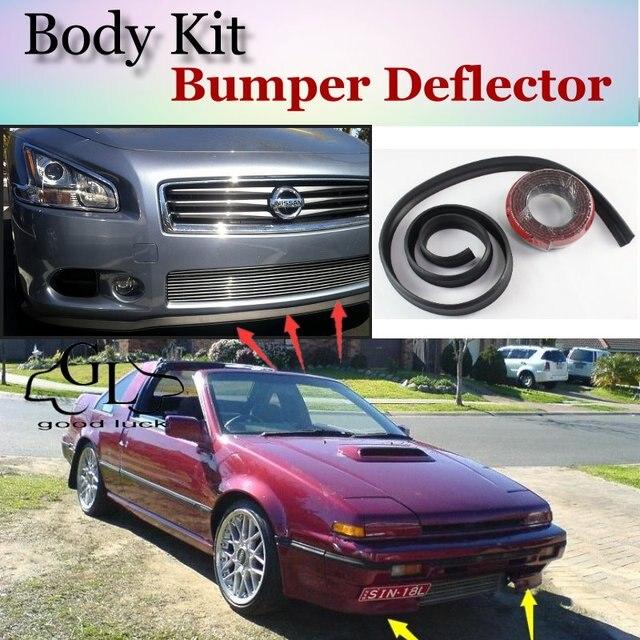 bumper lip deflector lips for nissan exa pulsar nx n13. Black Bedroom Furniture Sets. Home Design Ideas